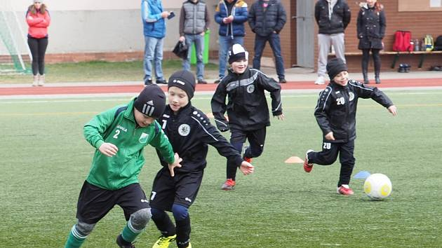 Doškolení trenérů fotbalu licence C na hradecké ZŠ Sever.