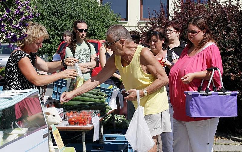 Farmářské trhy v Hradci Králové. Sobota 9. července2011