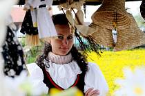 První řemeslnický trh ve skanzenu v Krňovicích