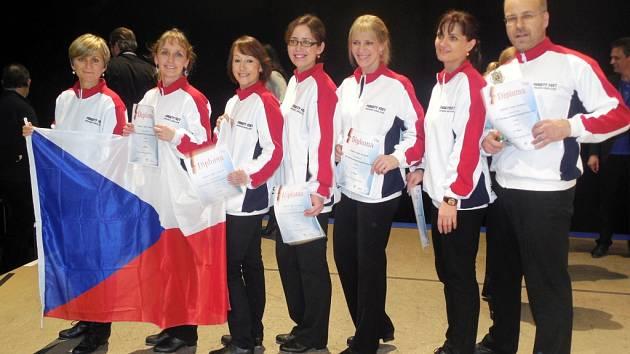 Stepaři královéhradecké ZUŠ Střezina na mistrovství světa v Německu.