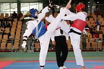 PRUŽNÉ TĚLO využila juniorka Lenka Moravcová (vlevo) z hradeckého Sokola k tomu, aby se probojovala až do vítězného finále.