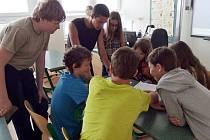 Projektový den žáků 7. tříd v hradecké ZŠ Milady Horákové