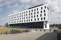 """""""Schody"""" se změní v moderní kongresový hotel Aldis."""