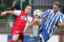 SK Třebechovice pod Orebem x Slavia Hradec Králové, sobota 7. srpna 2010.