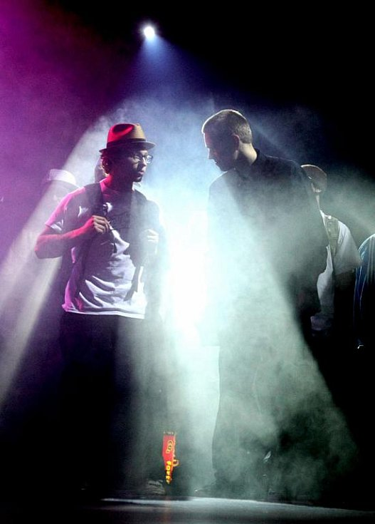 Dancefloor Attack, taneční show v hip hopu a street dance, v neděli 31. ledna 2010.