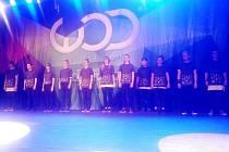 Ze soutěže World Of Dance v Belgii.