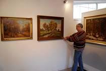 Výstava známého českého krajináře Karla Wagnera v královéhradecké galerii Stodvacettrojka na Slezském Předměstí.