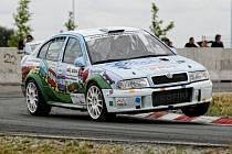 RallyShow na autodromu CzechRing ve Festivalparku v Hradci Králové.