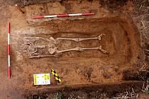 Archeologické vykopávky v Lochenicích.