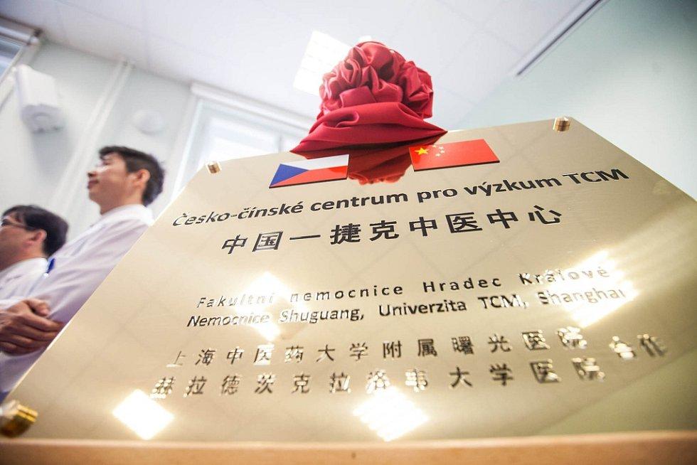 Centrum čínské medicíny ve Fakultní nemocnici Hradec Králové.