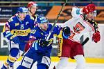Hokejová extraliga: Mountfield HK - PSG Zlín.