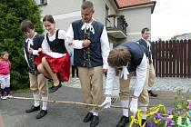 Máje v Lovčicích aneb Oslava svátku jara.