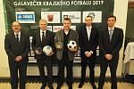 Devátý galavečer Královéhradeckého krajského fotbalového svazu v Rychnově nad Kněžnou.