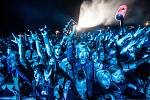 Z festivalu Rock for People: Bring Me the Horizon.