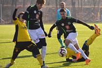 Fotbalová příprava: FC Hradec Králové - TJ Jiskra Ústí nad Orlicí.