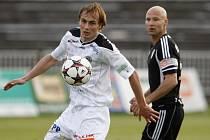 Fotbalová národní liga: FC Hradec Králové - FK Viktoria Žižkov.