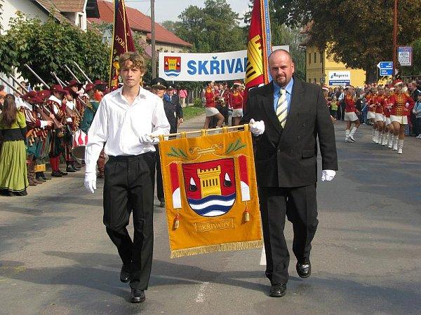 Do Skřivan se sjeli rodáci a připomněli si 650.výročí zmínky oobci (sobota 18.září 2010).