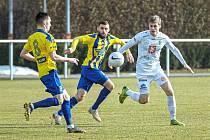 Fotbalová příprava: FC Hradec Králové - FK Varnsdorf.