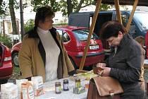 První farmářské trhy v Hradci Králové (sobota 2. října 2010).