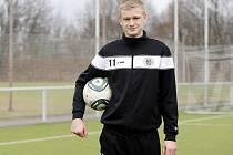 Fotbalista Jaroslav Zelený.