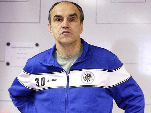 Trenér Václav Kotal ještě v dresu Hradce Králové.