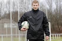 Fotbalista Jan Šisler.