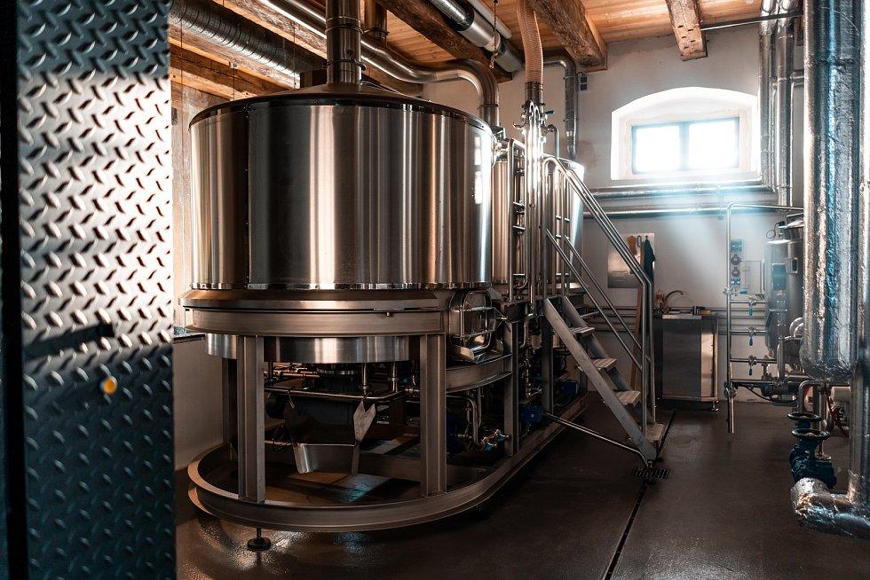 V posledních dnech osiřela i varna pivovaru Beránek. Foto: Pivovar Beránek