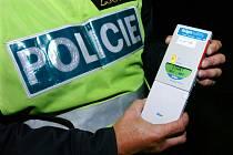 Policejní detektor alkoholu