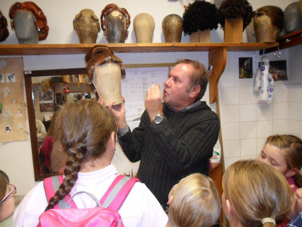 Pouchovští žáci na návštěvě Východočeského divadla v Pardubicích