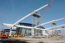Stavba hradeckého terminálu