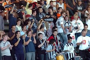 Hradecké fotbalové publikum