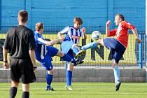 Krajský přebor ve fotbale: FK Náchod - FK Chlumec nad Cidlinou.