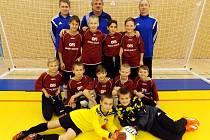 Výběr fotbalistů OFS Hradec Králové U11.