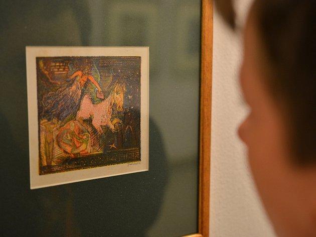 JEN DNY ZBÝVAJÍ do konce ojedinělé výstavy grafik výtvarníka a spisovatele Josefa Váchala, kterou připravila královéhradecká Galerie Koruna. Výstavní prostory od konce února představují milovníkům umění práce vůdčí osobnosti takzvaného pozdního symbolismu
