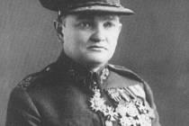 Rudolf Medek v uniformě prvorepublikové československé armády