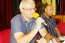 Martin Zbořil a Vladan Haleš.
