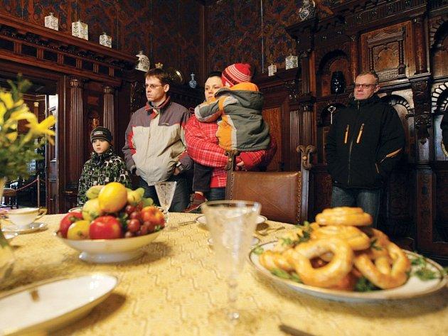Velikonoce na zámku v Hrádku u Nechanic.