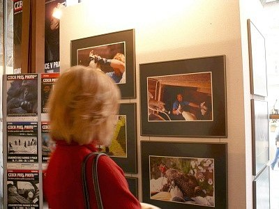 Fotografie Petra Wagenknechta na Czech press photo 2007