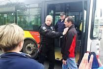 Sebeobrana řidičů MHD.