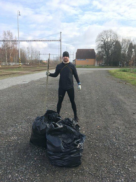 Petr Čapek. Foto: Facebook Trash Hero Hradec Králové