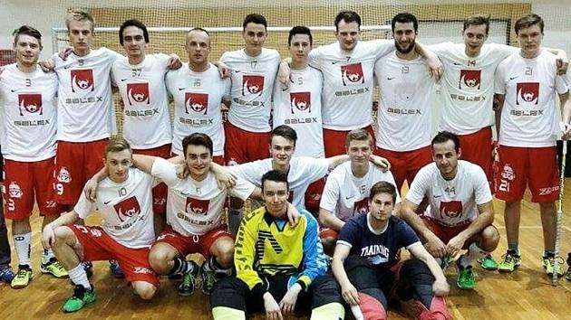 Florbalisté FbC Innebandytos Hradec Králové.