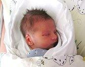 BENJAMIN FOL'TA. Pyšná sestřička Dianka vítá na světě svého brášku Bena, který se narodil o trochu dříve 3. září ve 2.28 hodin s mírami 49 centimetrů a 2900 gramů. Šťastní rodiče Dušan a Markéta Fol'tovi.