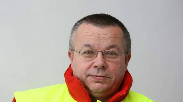 Jiří Mašek ze záchranné služby.