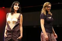 Autorská přehlídka módní návrhářky Jitky Šedové v pondělí 29. března 2010 v Aldisu.