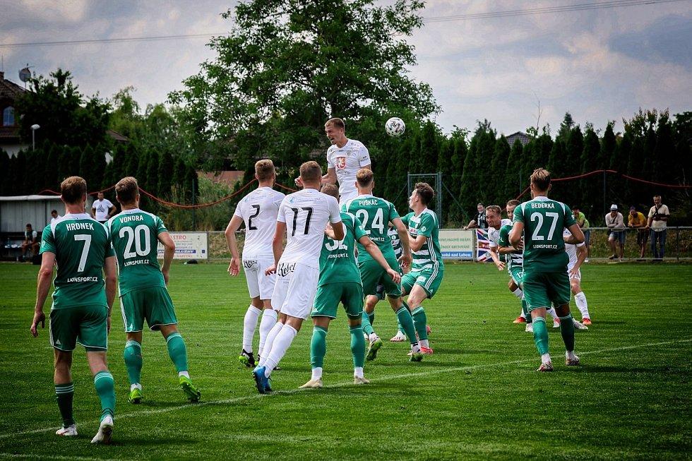 Fotbalisté Hradce Králové porazili Bohemians 3:1.