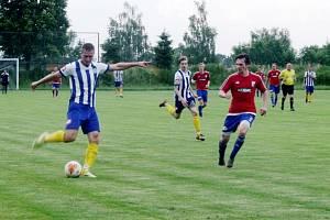 Krajská fotbalová I. B třída: TJ Slavoj Předměřice nad Labem - SK Smiřice.