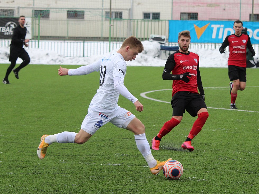 Zimní fotbalová Tipsport liga: FC Hradec Králové - FC MAS Táborsko.