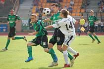 Z utkání II. ligy mezi Baníkem Sokolov a Hradcem Králové (2:0).