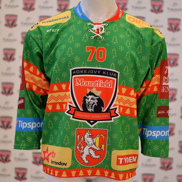 Speciální dres hradeckých hokejistů