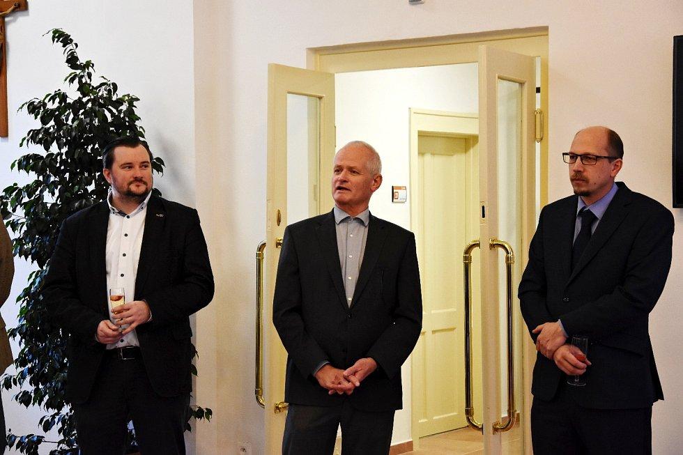 Otevření zrekonstruovaného objektu Domova důchodců Černožice.